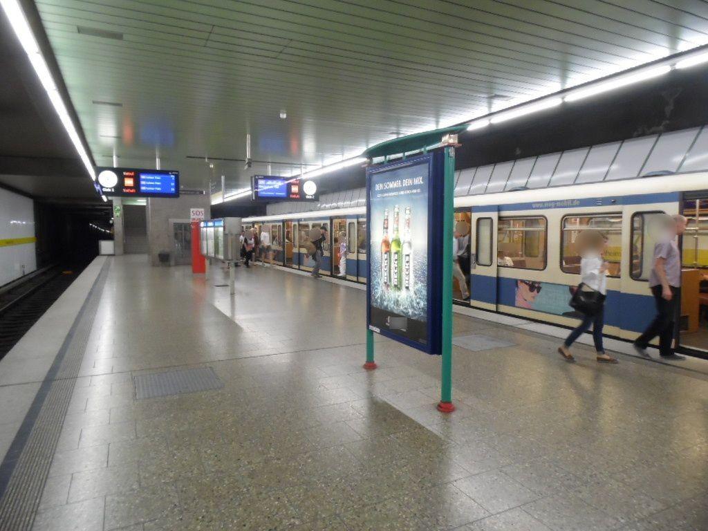 Friedenheimer Str./U-Bahnsteig/Nord