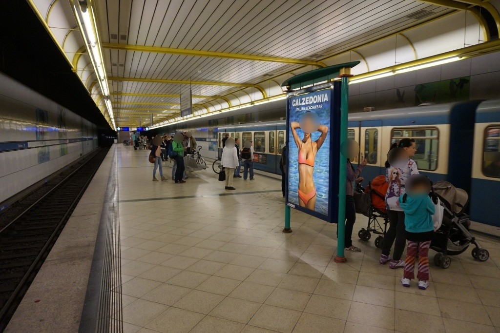Thalkirchen/U-Bahnsteig Gleis 2, 2. Sto.