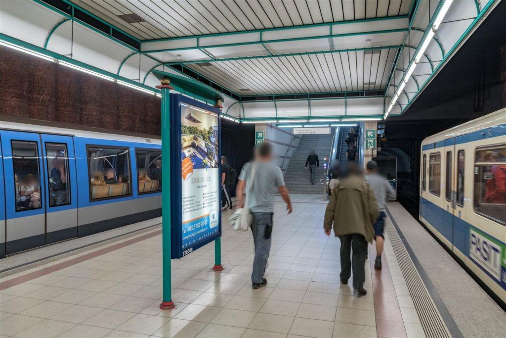 Obersendling/U-Bahnsteig Süd