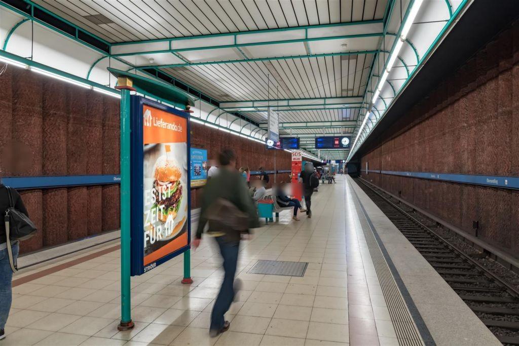 Obersendling/U-Bahnsteig Nord