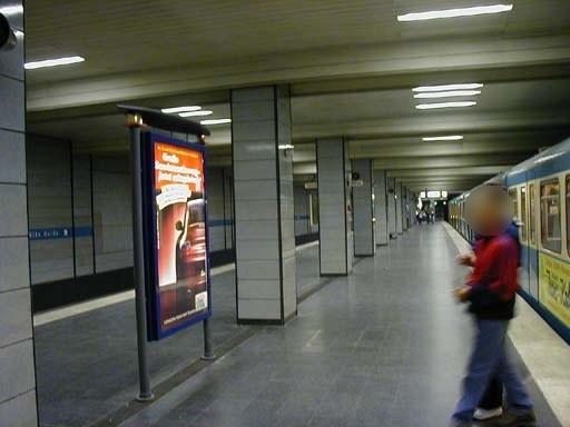 Alte Heide/Nord/U-Bahnsteig