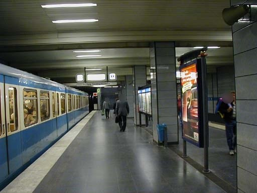 Alte Heide/Süd/U-Bahnsteig
