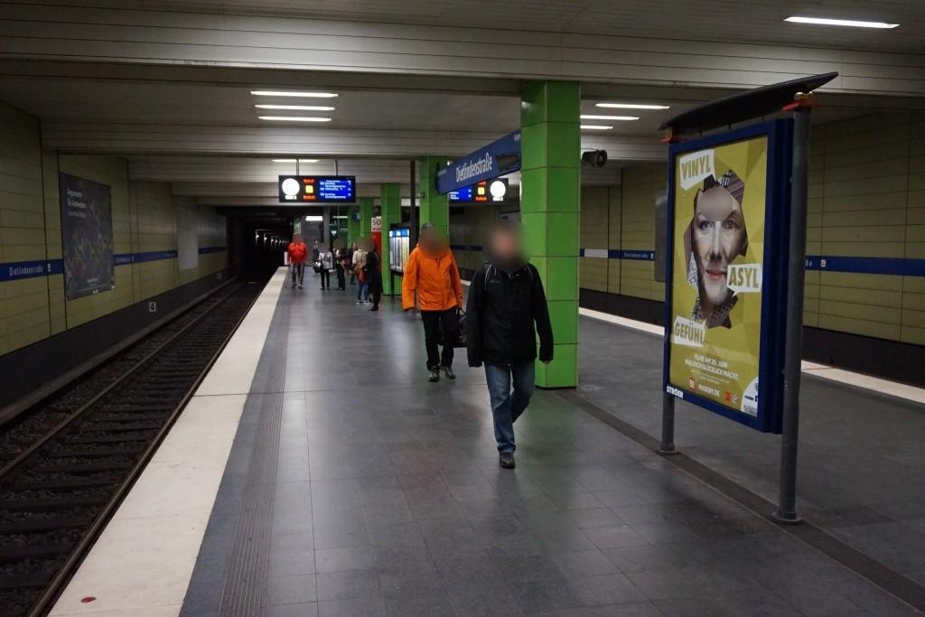 Dietlindenstr./Nord/U-Bahnsteig