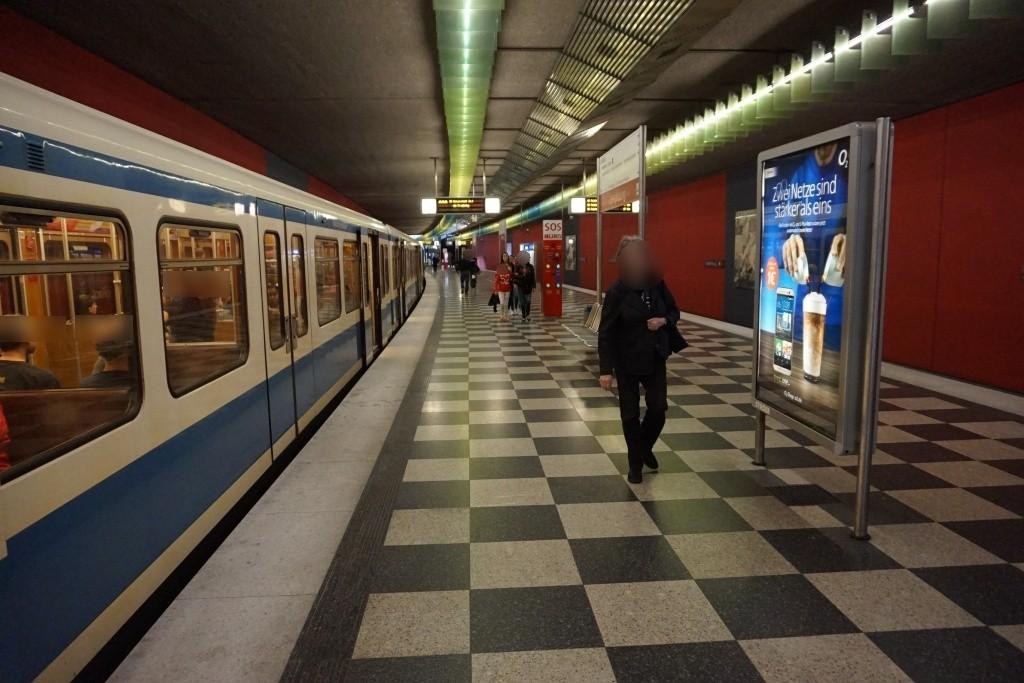 Josephsburgstr./Bahnsteig Ost