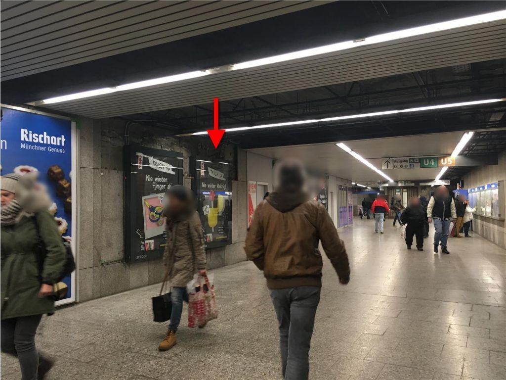 Hbf/U-Bahn/ Ausg. Bayerstr. 2. Sto.