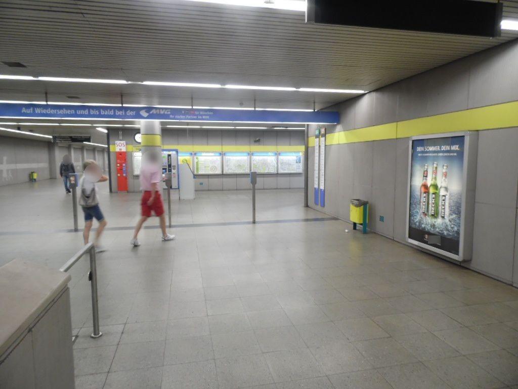 Schwanthaler Höhe/Untergeschoss Schalterhalle Ost