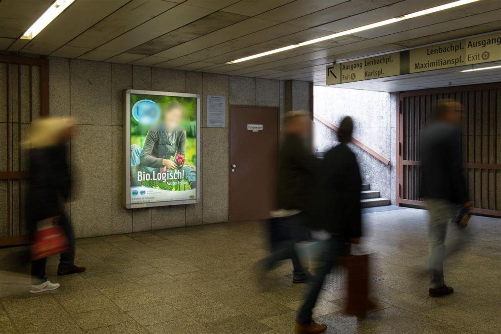 Stachus U-Bahn Aufg. Lenbachplatz West