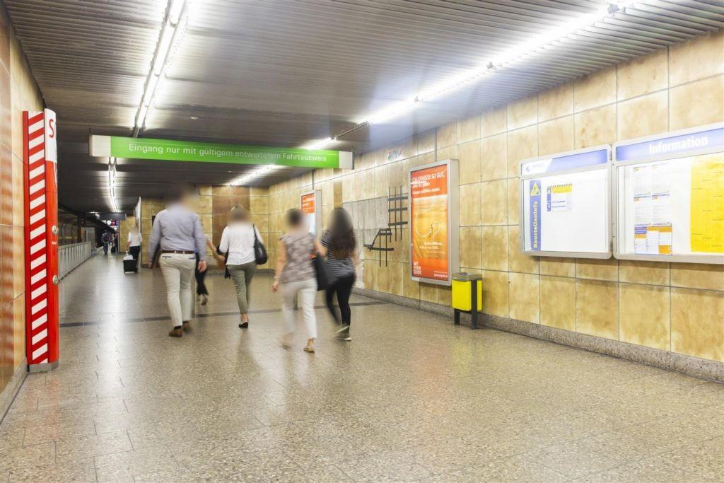 Heimeranplatz/Zug. Bahnsteig