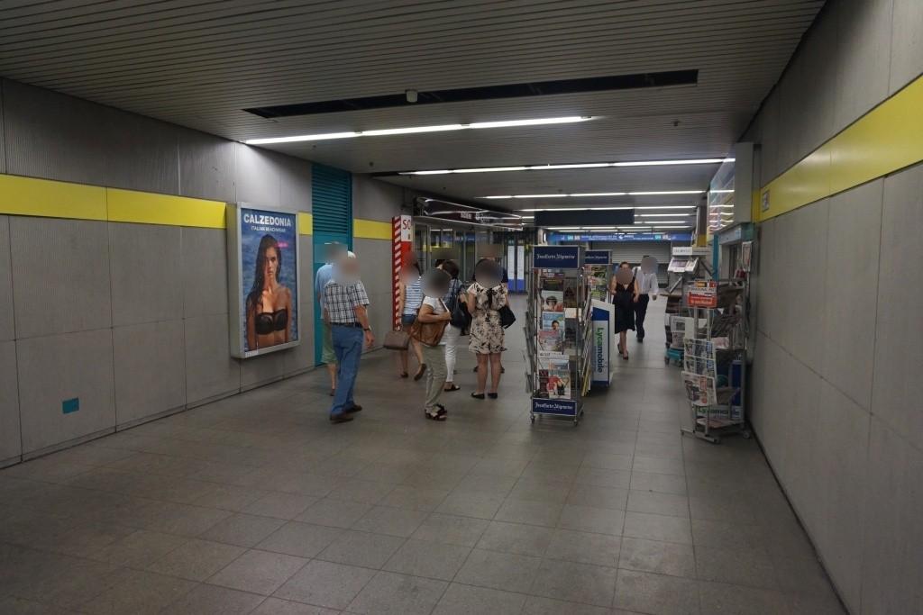 Schwanthaler Höhe/Untergeschoss Schalterhalle West