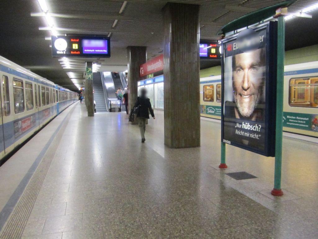 Untersbergstr./U-Bahnsteig NS