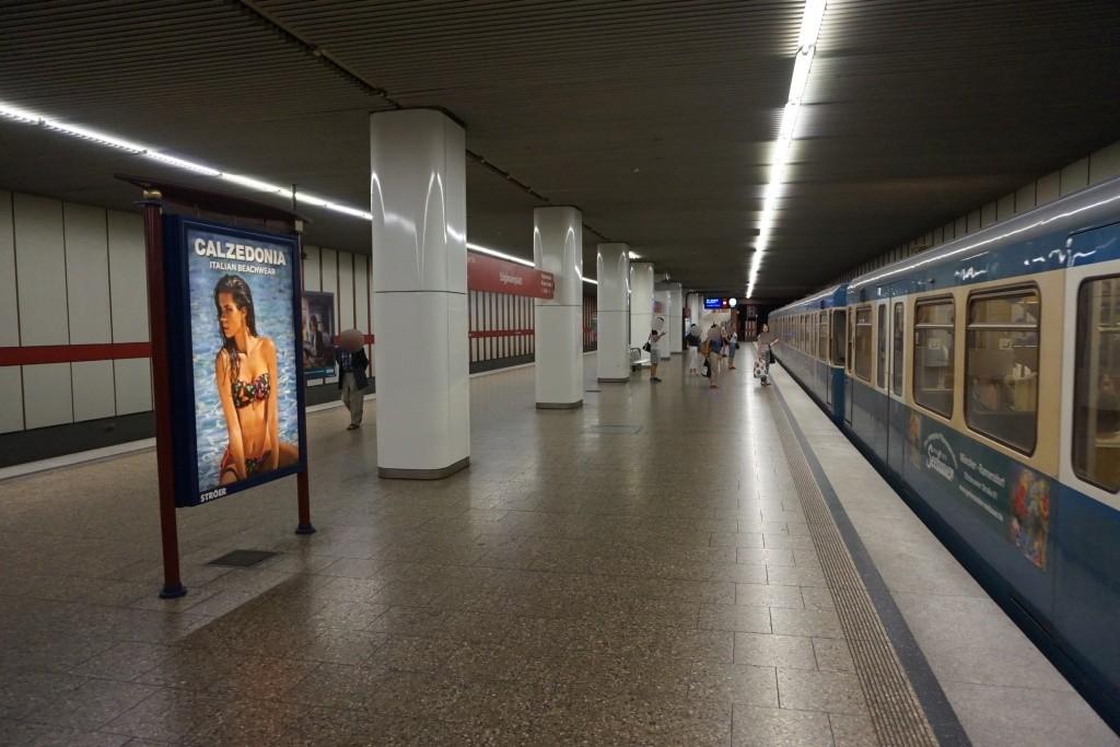 Stiglmaierplatz/U-Bahnsteig Gleis 2