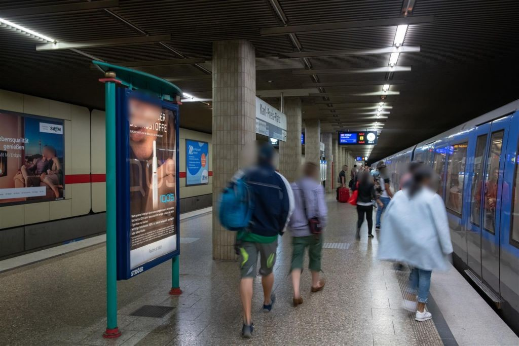 Karl-Preis-Platz/U-Bahnsteig SS