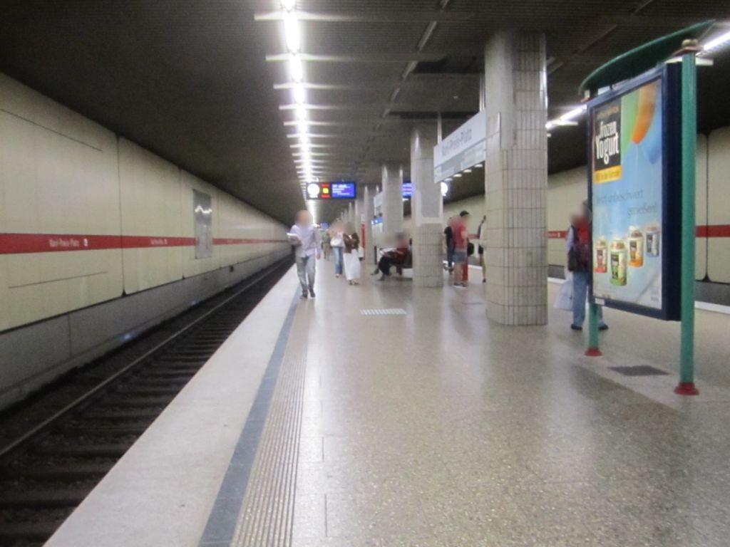 Karl-Preis-Platz/U-Bahnsteig NS