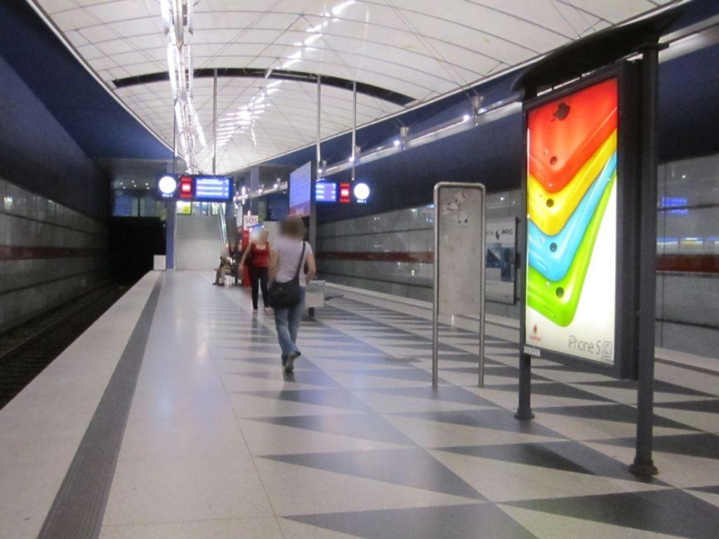Hasenbergl/U Bahnsteig