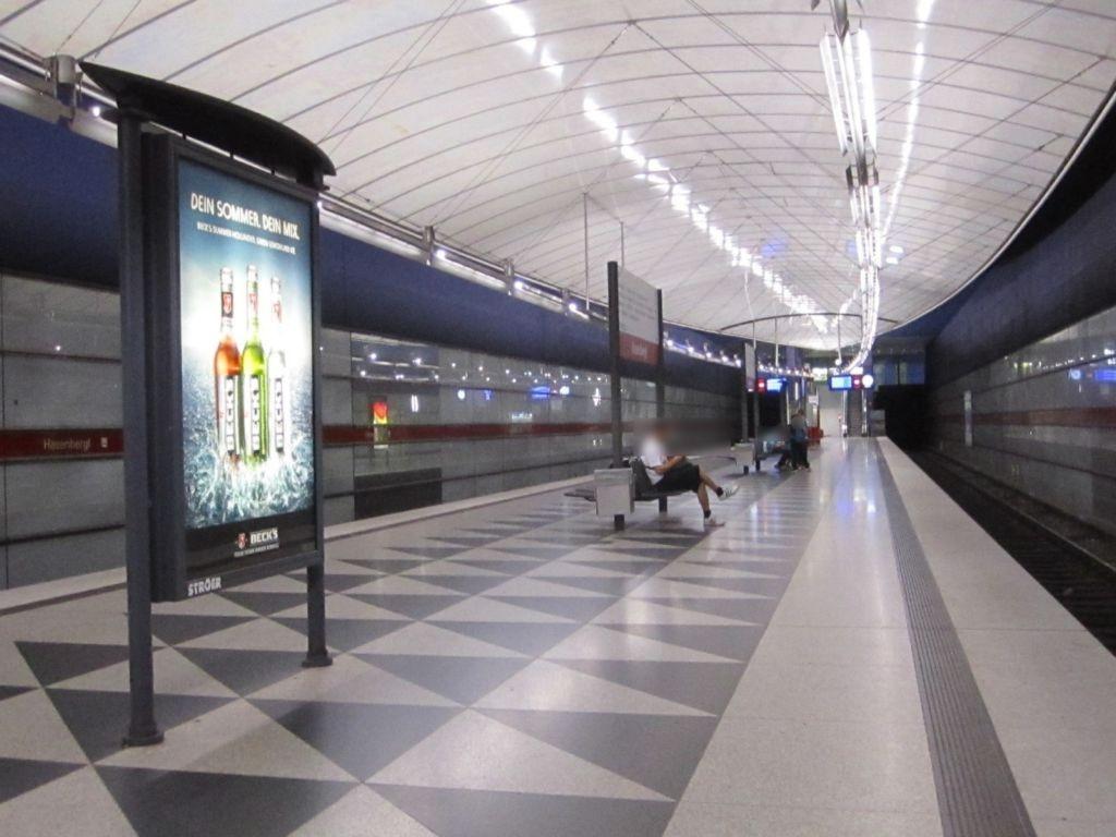 Hasenbergl/U-Bahnsteig