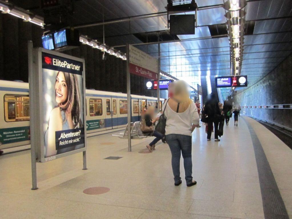 St.-Quirin-Platz Bahnsteig