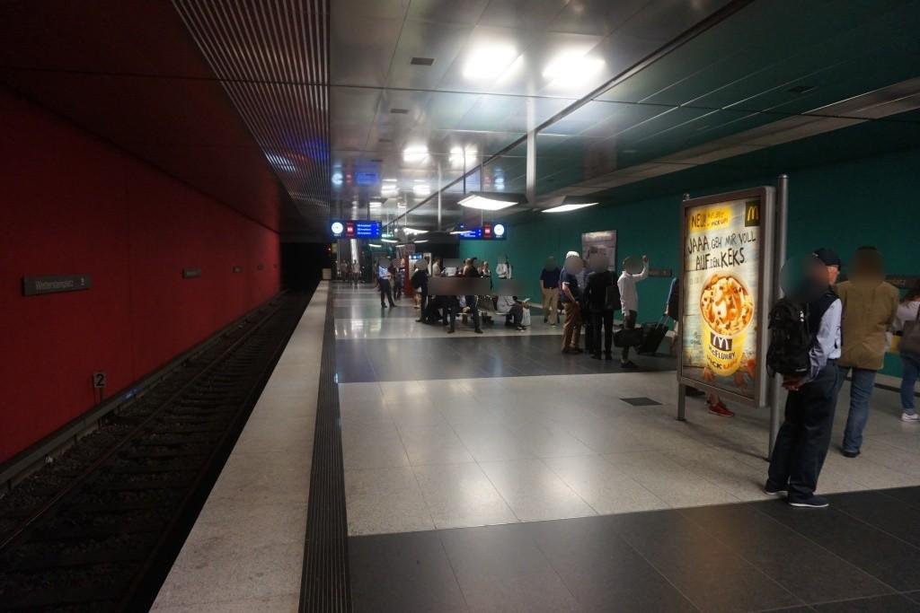 Wettersteinplatz Bahnsteig Nord