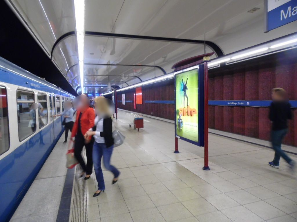 Machtlfingerstr./U-Bahnsteig Nord