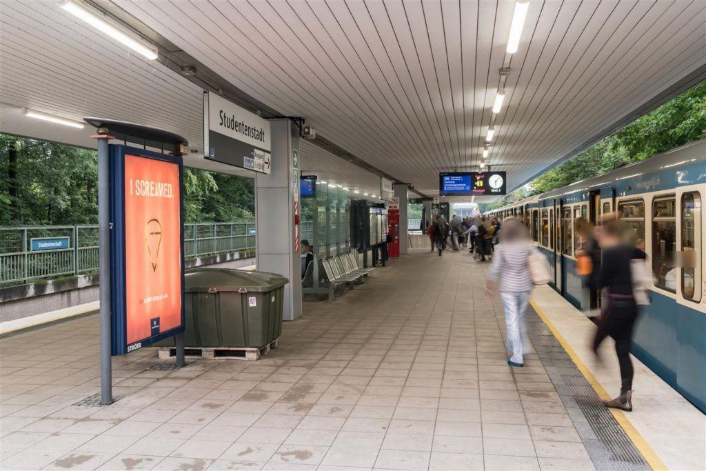 Studentenstadt/Süd/U-Bahnsteig