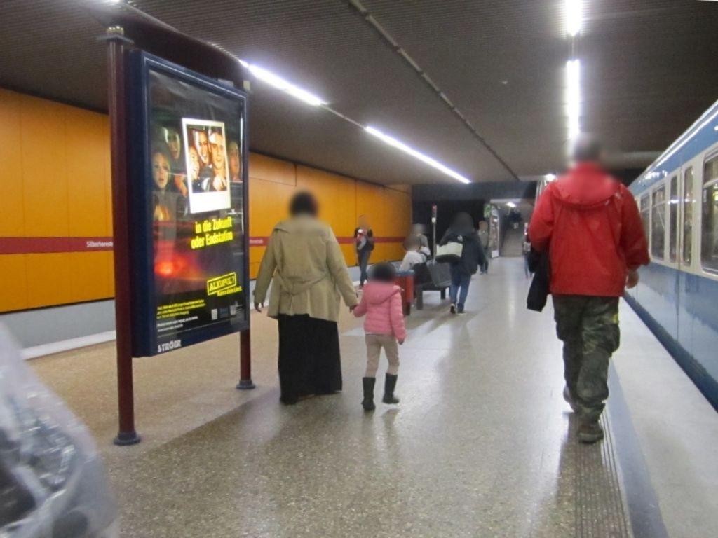 Silberhornstr./U-Bahnsteig SS
