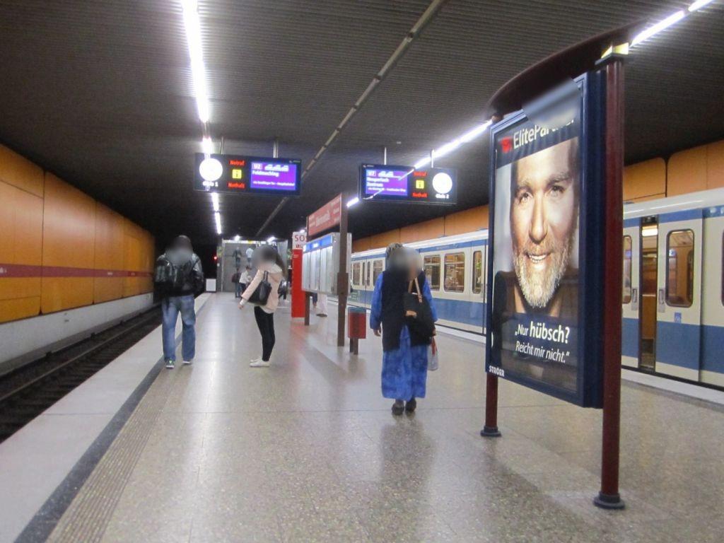 Silberhornstr./U-Bahnsteig NS