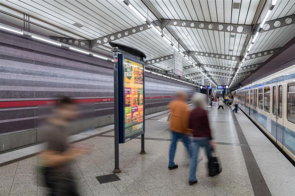 Harthof/U-Bahnsteig Ost Gleis 2