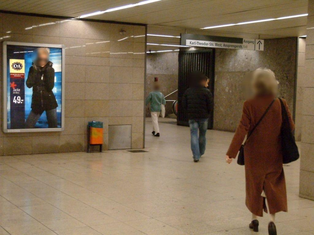 Bonner Platz Nh. Ausg. Schwabinger KH li./We.li.