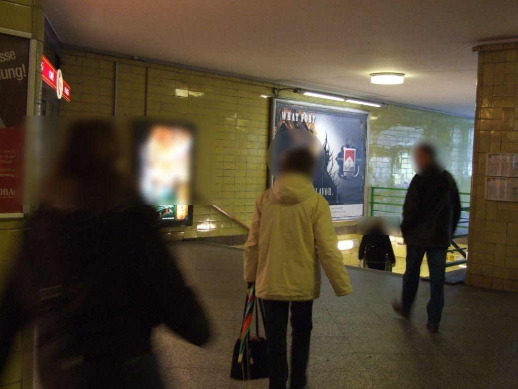 S-Bf Tempelhof, EH  Abg. z. U-Bahn links