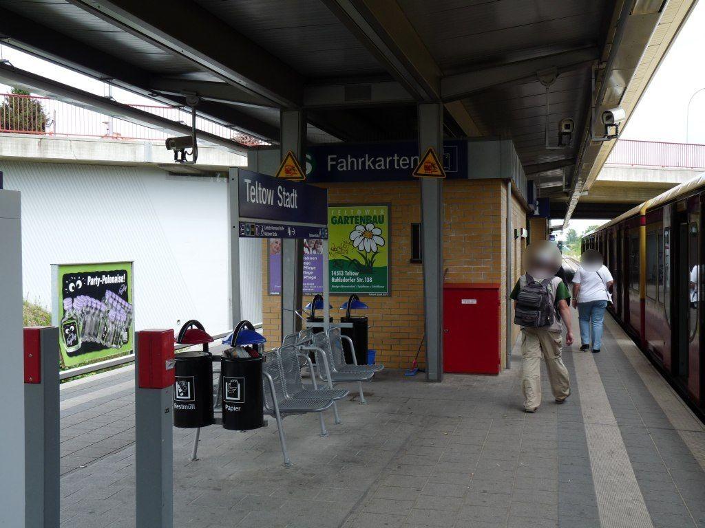 S-Bf Teltow-Stadt, HGL 1/Nh. Fahrkartensch.