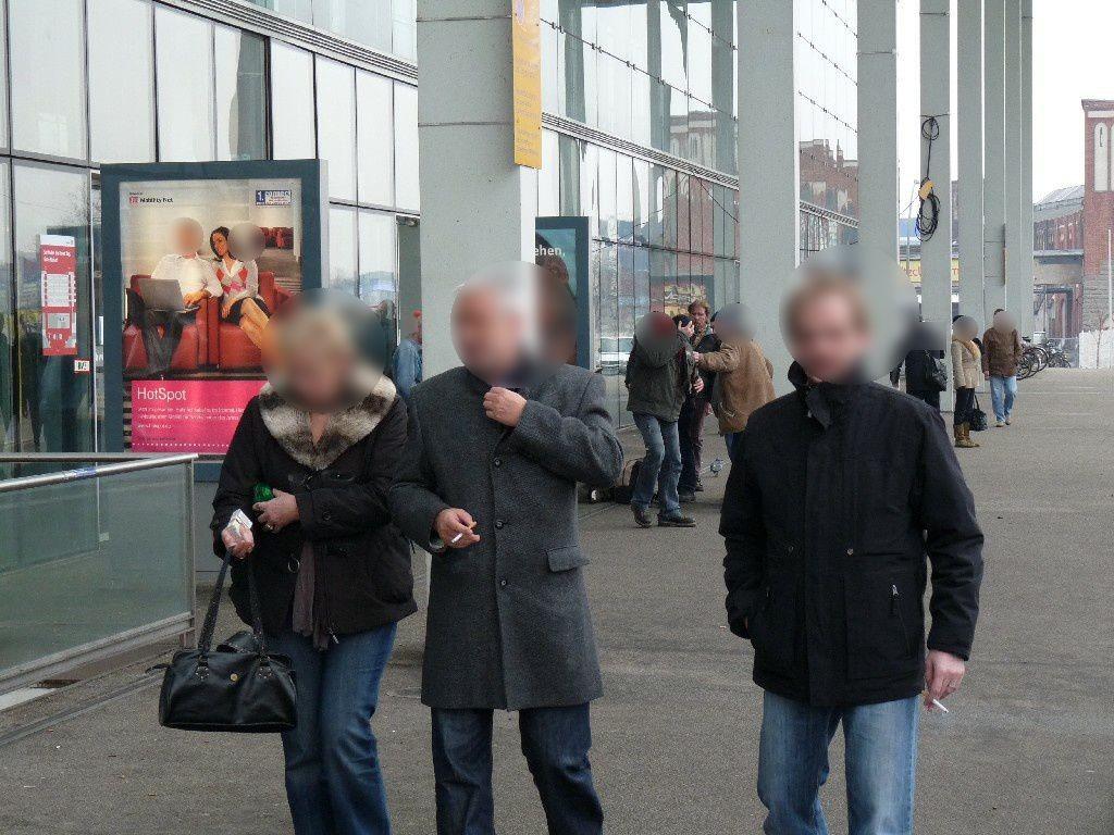 Bf Ostbahnhof, vor EH, 1.Sto. li. Seite