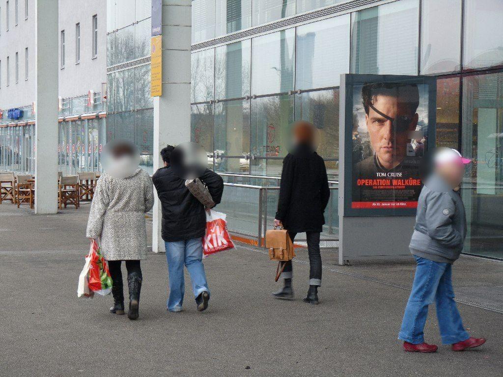 Bf Ostbahnhof, vor EH, 1.Sto. re. Seite