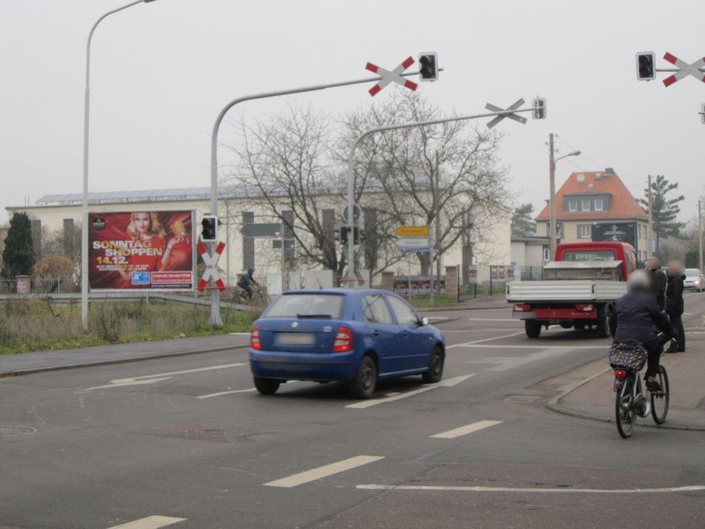 Köthener Str./An der Saalebahn, saw., li.