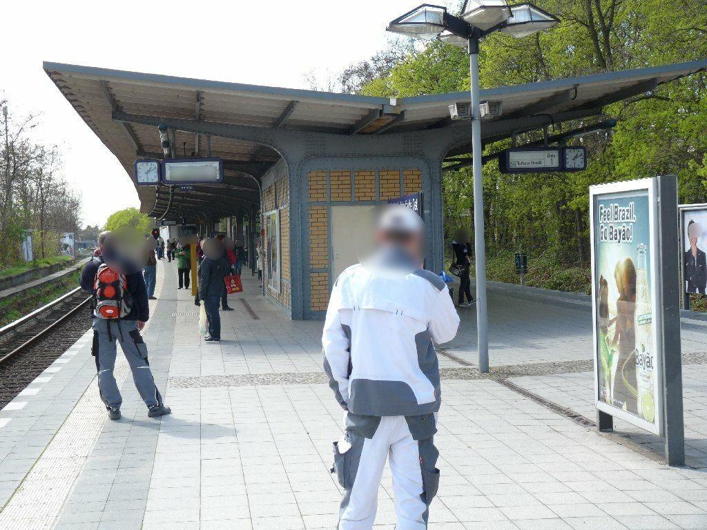 S-Bf LichterfeldeOst, Bstg., Gl. 2,sew., 2 Sto.