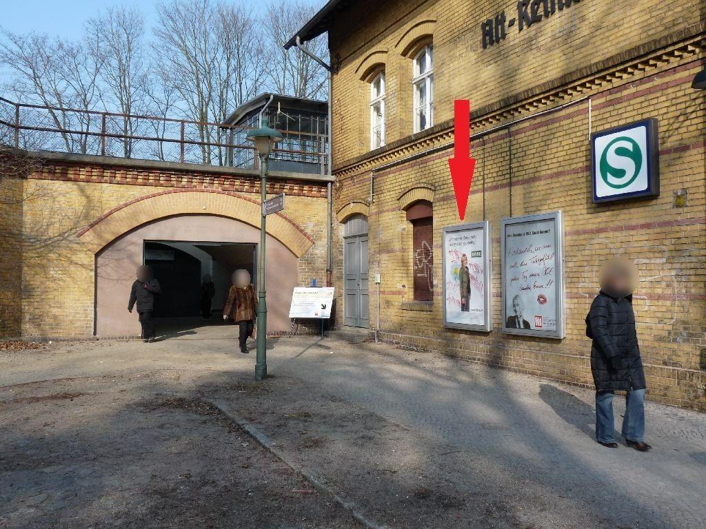 S-Bf Alt Reinickendorf, Wand, Bf-Gb,v. Eing, re,2.
