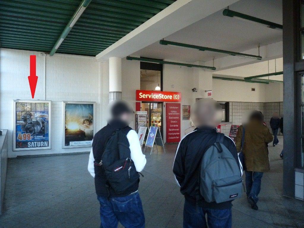 S-Bf Messe-Nord/ICC,Bf-Halle, Ausg.Kantstr, 1 Sto.