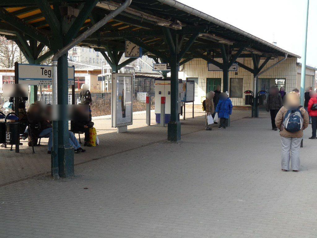 S-Bf Tegel,Bahnsteig, RichtungHennigsdorf, 2. Sto.