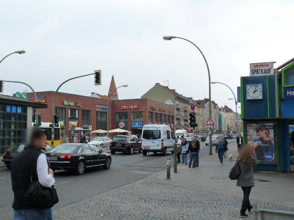 S-Bf Hermannstr., Bf-Halle, Ausg. Siegfriedstr.