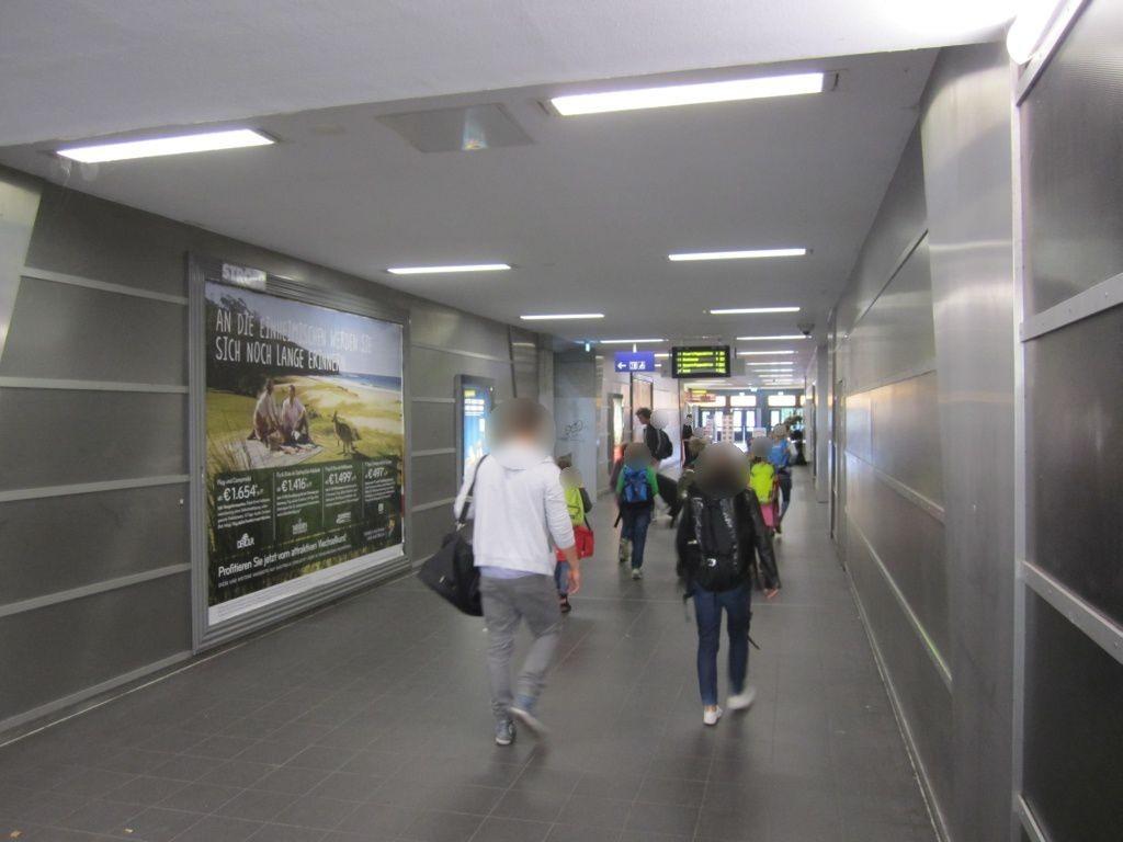 S-Bf Ohlsdorf, Tunnel, Ausg.Im Grünen Grunde
