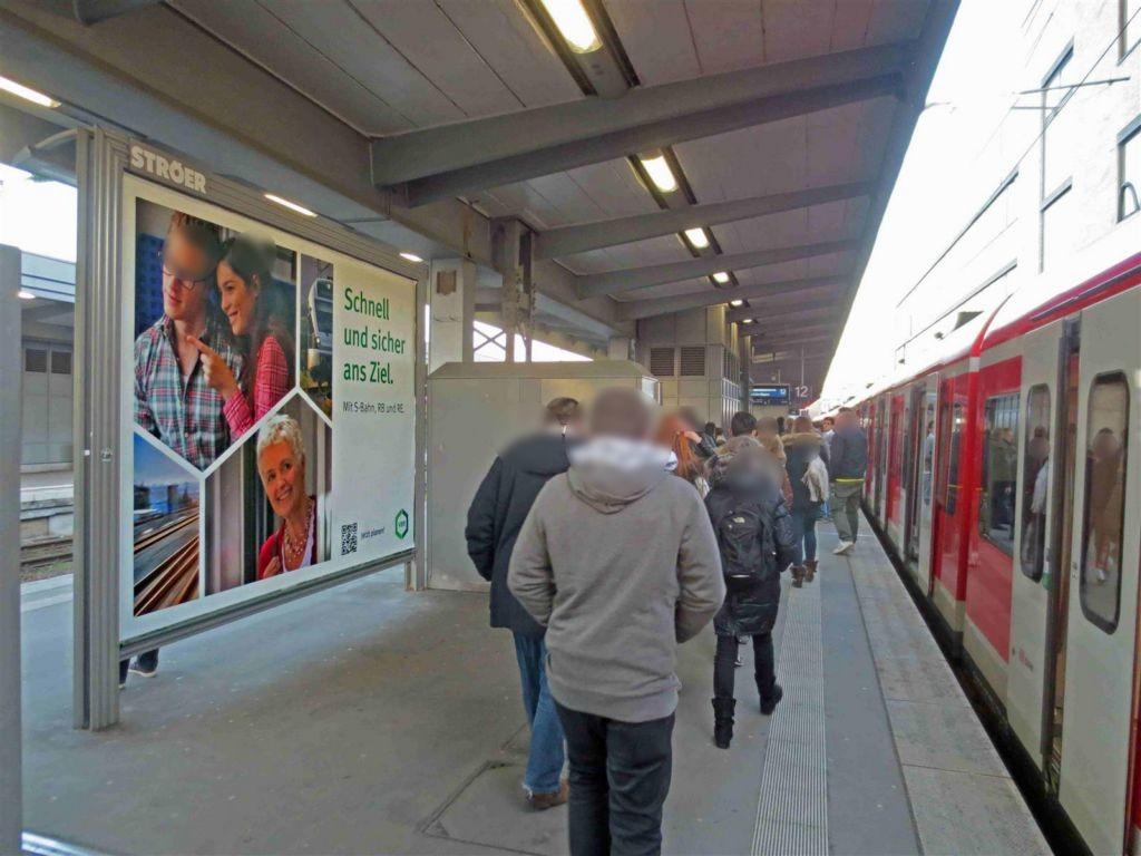 Hbf /Bstg. Gleis 12/Nh. Westtunnel/1. Sto.
