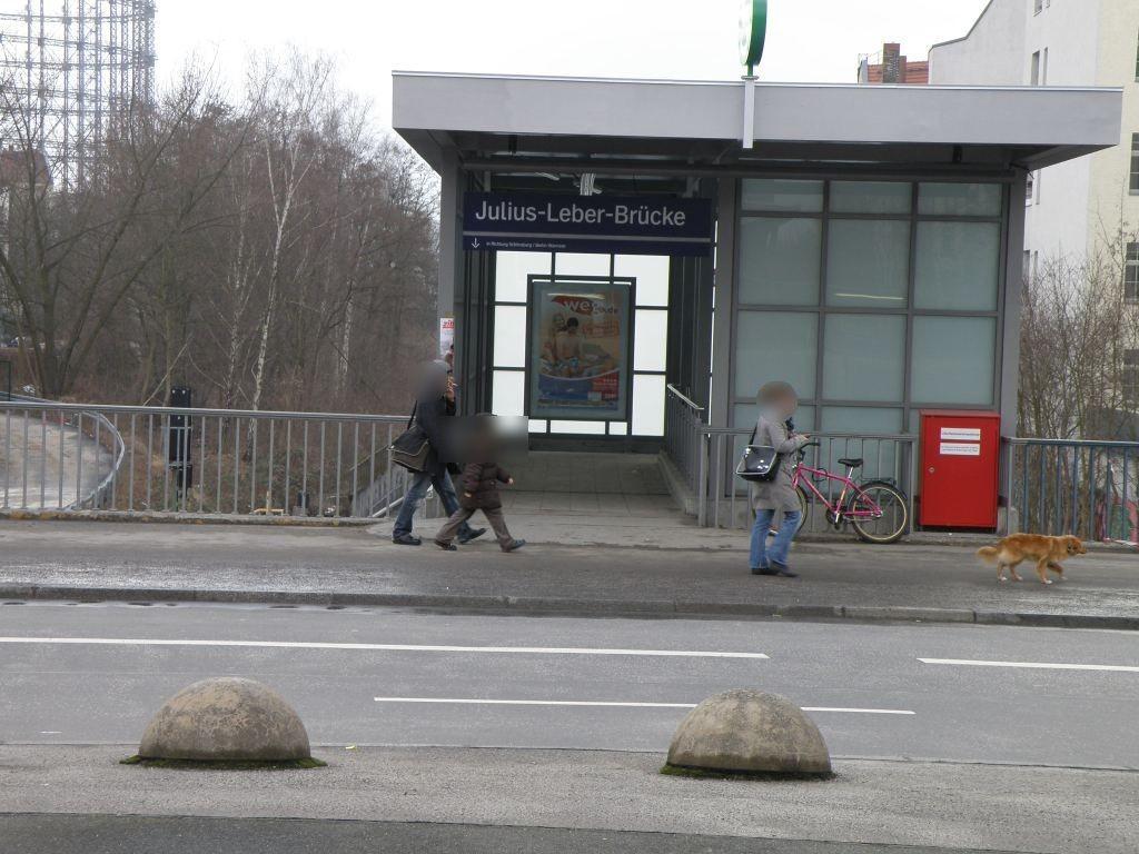 S-Bf Julius-Leber-Brücke,südl.Halle Ri Wannsee