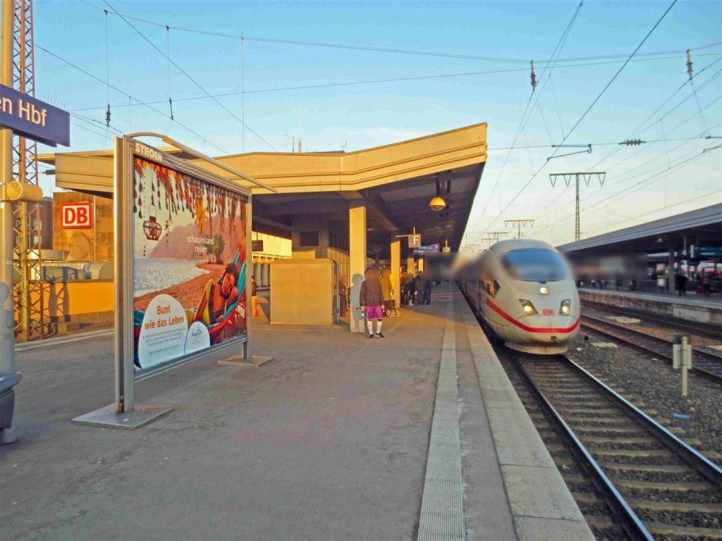 Hbf /Bstg. Gleis 2/Nh. Westtunnel/1. Sto.