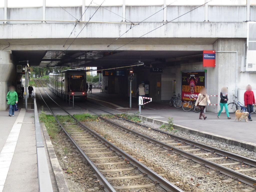 Haunstetter Str. S-Bahn UFG-rechts