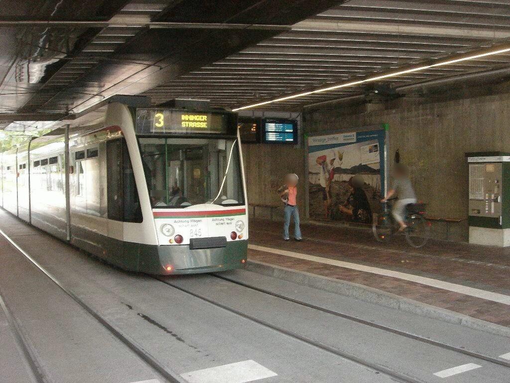 Haunstetter Str. S-Bahn UFG-links