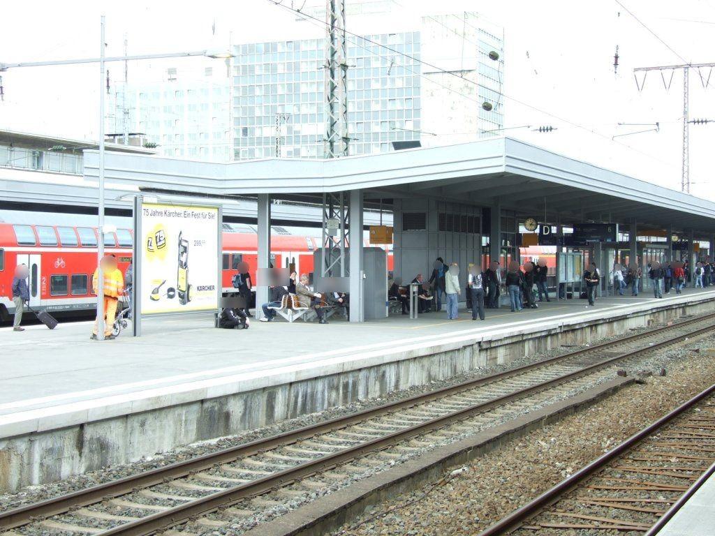 Hbf /Bstg. Gleis 6/Nh. Westtunnel/1. Sto.