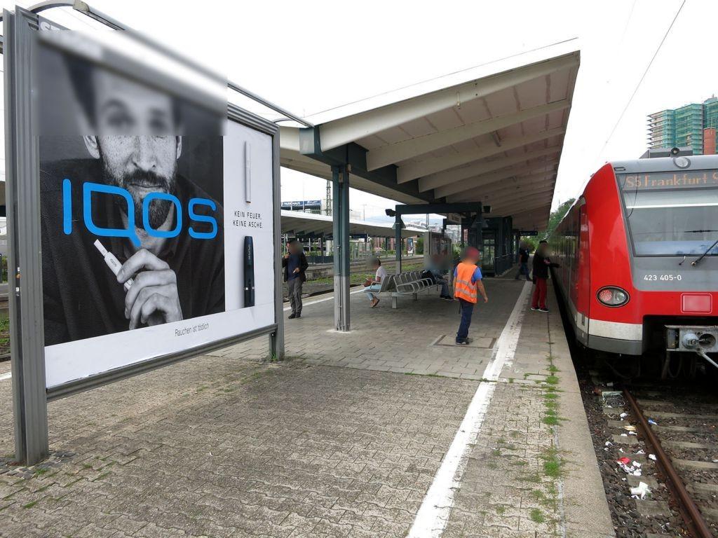 S-Bf Bad Homburg, Bstg., Gleis 2 links