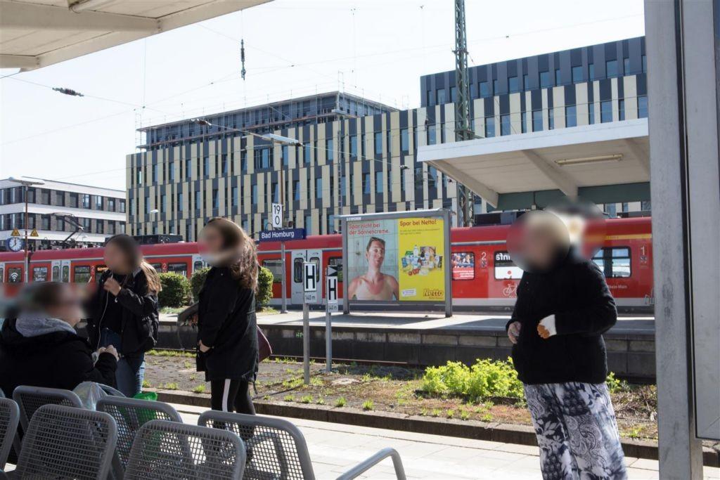S-Bf Bad Homburg, Bstg., Gleis 4 rechts