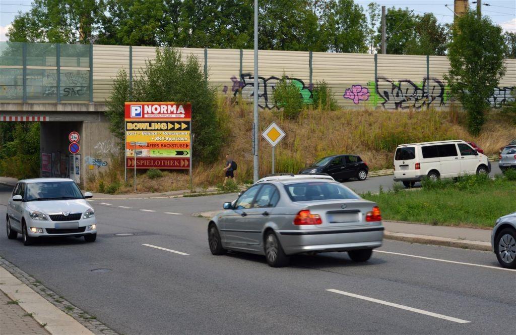 Lützowstr., vorDB-Brücke, re., Ri.Zwickauer Str.