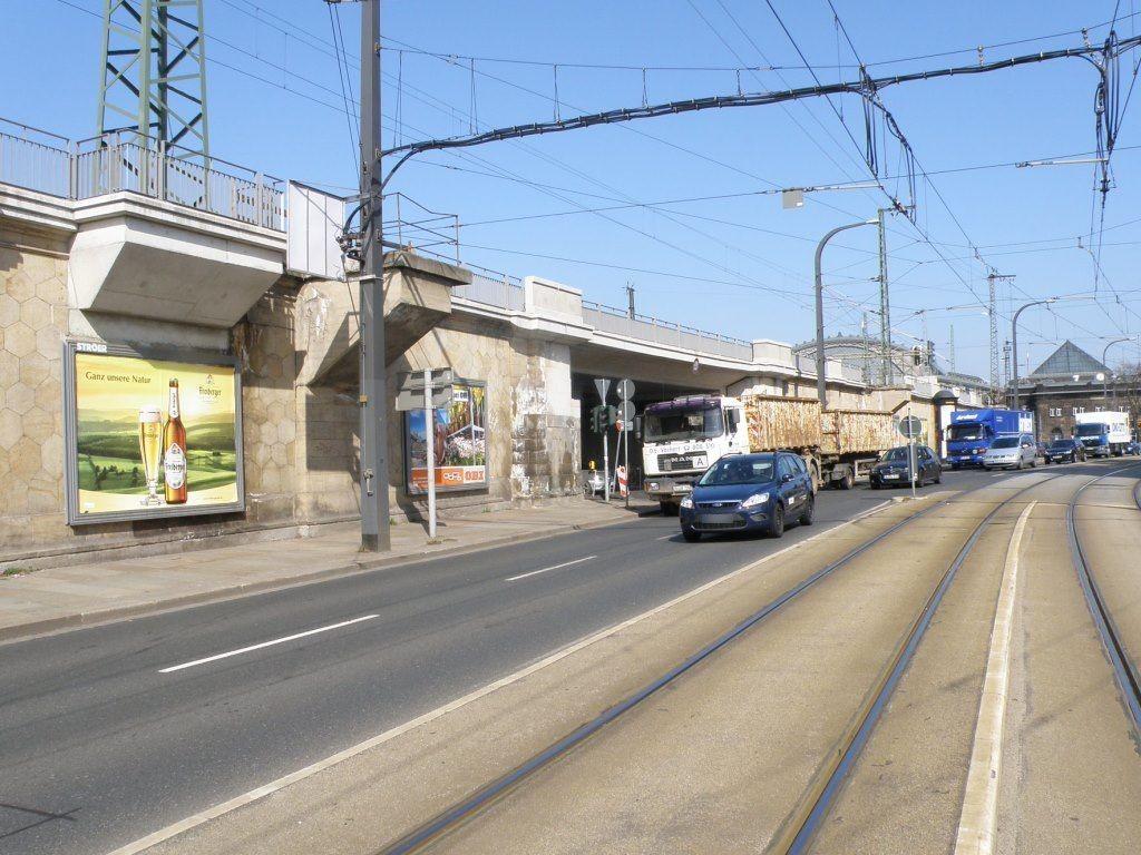 Antonstr.(B6)/Eisenbahnstr. neb. Ufg. li.