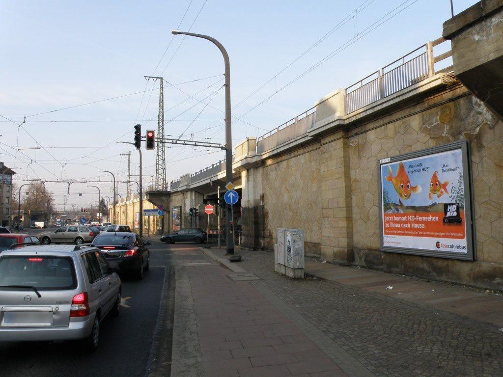 Antonstr.(B6)/Eisenbahnstr. neb. Ufg. re., 1. Sto.