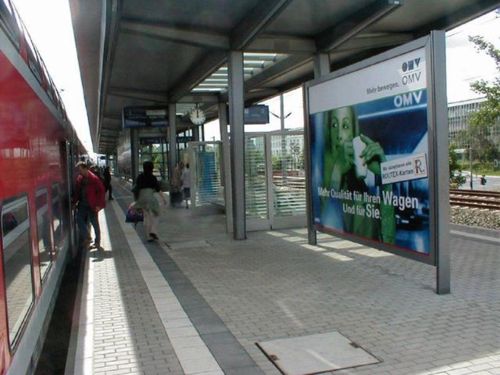 S-Bf Dobritz, Bstg.,Richtung Hbf